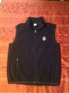 Starbucks-Coffee-Managers-Conference-Fleece-Vest-XL