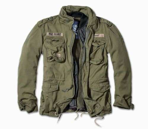 Winter Out Brandit Mens Jacket Military Olive Zip Us Parka Giant Army Liner M65 RcROwqvU8
