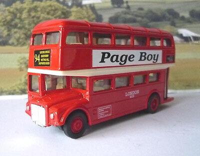 Die Cast Pull Back /& go acción Londres Rojo Double Decker Bus Souvenir Regalo
