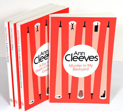 Ann Cleeves Paperback 4 Book Lot Killjoy Lesson in Dying ...
