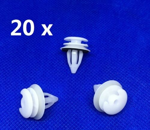 FOR GM Rover 75 Interior Door Panel Trim Clips Fastener  Card Retainer Clips