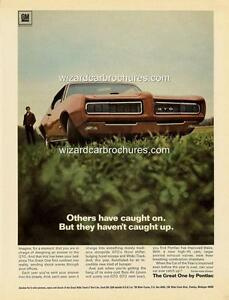 1968 CHEVROLET CORVETTE A3 POSTER AD SALES BROCHURE MINT ADVERTISEMENT ADVERT