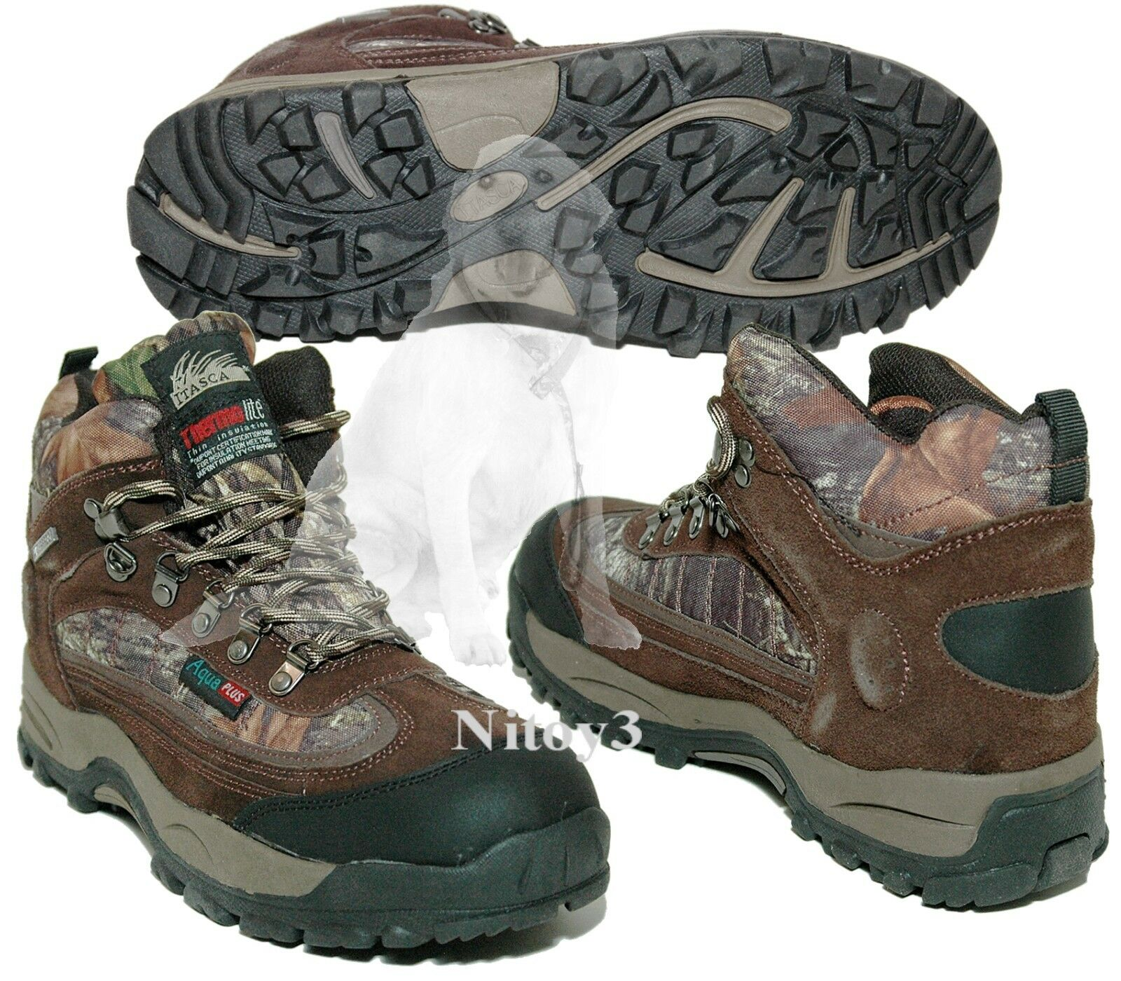 Itasca Heritage Thermolite® Scent Control System Hiking-Hunting Boots  Men 10