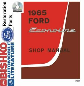 OEM Shop Manual CD Ford Truck Econoline Includes Wiring ...