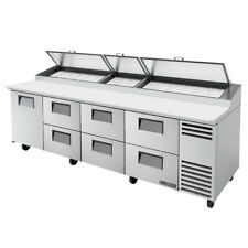 True Tpp At 119d 6 Hc 119 Pizza Prep Table Refrigerated Counter