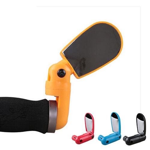 BG/_ HK Bike Bicycle Cycle Handlebar Flexible Rear View Rearview Mirror Safety S