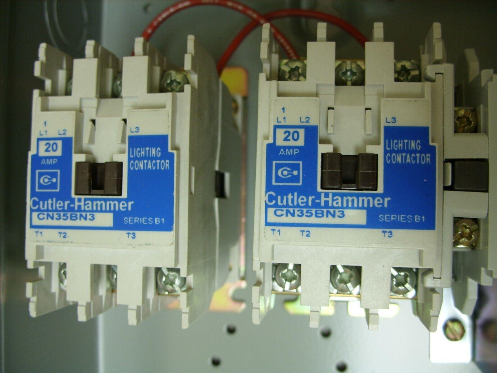 Cutler-Hammer ECL03B1H6A Lighting Contactor & Enclosure Assy. - CN35BN3 -  NOS for sale onlineeBay
