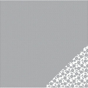 American-Crafts-Basics-Double-Sided-Cardstock-Gray-Tiny-Dot-12-X12
