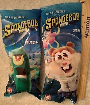 Spongebob Movie Keychain Wendy/'s Toy Plankton New in Package