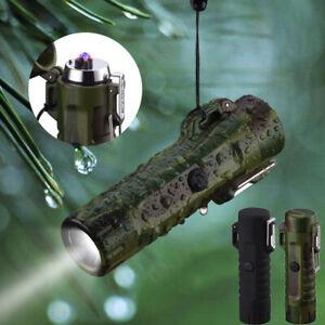 Elektro Feuerzeug Arc Plasma Elektrisches USB-Lichtbogen Aufladbar Taschenlampe
