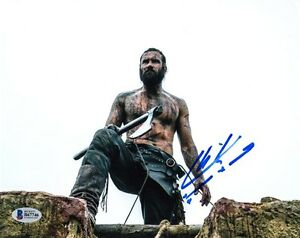 CLIVE-STANDEN-SIGNED-AUTOGRAPHED-8x10-PHOTO-ROLLO-VIKINGS-BECKETT-BAS