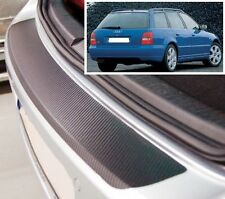 Audi A4 8D5 B5 Ranchera - Estilo Carbono parachoques trasero Protector