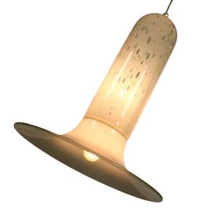 Alfredo-Barbini-Murano-Glas-Pendel-Leuchte-XXL-Design-Haenge-Lampe-Vintage-70er