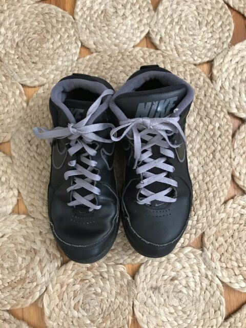 2f682012896dc6 NIKE The Overplay Boys Athletic Shoes Size 7 Black Basketball Mens  511372-010