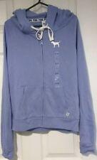 BNWT Victoria's Secret Pink purple Small Hoodie full Zip top Jacket UK 6-8