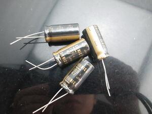 6 pcs Elna Silmic II capacitor 6.3v 330uf Audio Grade Premium