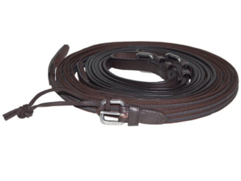 IDEALE Equestre leathertech AntiSlip Marronee Singolo rossoini