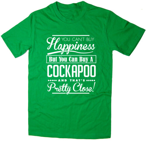 T-shirt You Can/'t Buy Happiness But You Can Buy A Cockapoo Funny Dog Tee