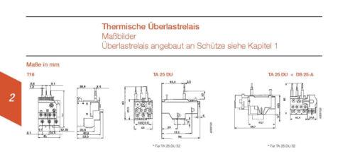 4036.6562 Thermisches Überlastrelais ABB T16-1.3 Nr