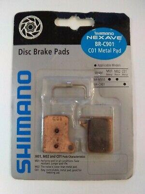 XLC disc Brake pads shimano Hydr. Nexave Deore M-555 C901