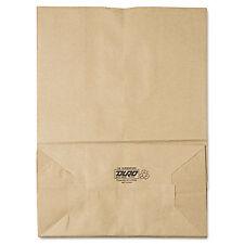 General 1/6 BBL Paper Grocery Bag 75lb Kraft Standard 12 x 7 x 17 400 bags