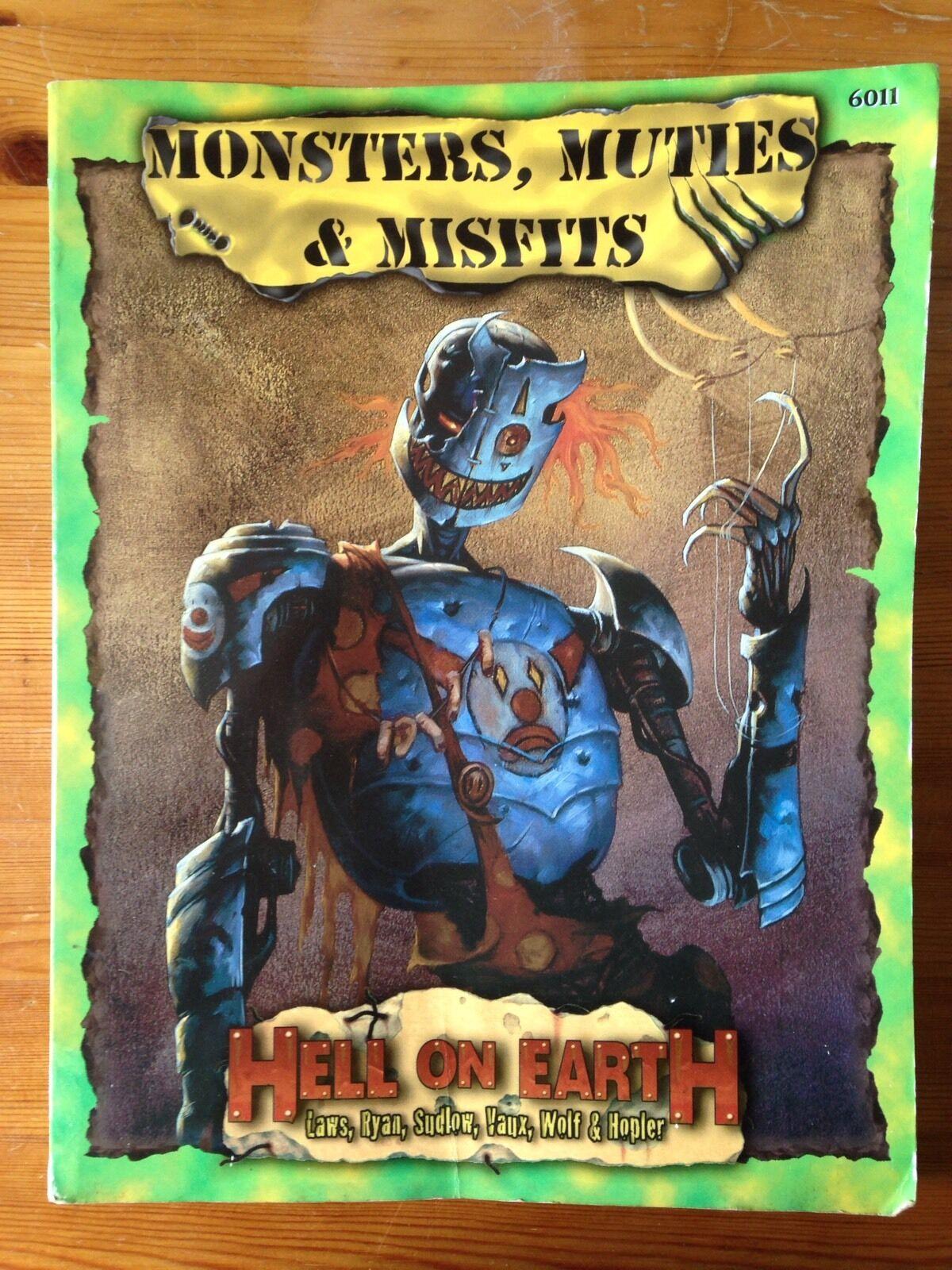 MOSTRI, muties & Misfits   DeadLands  INFERNO sulla terra   Pinnacle   PEG6011