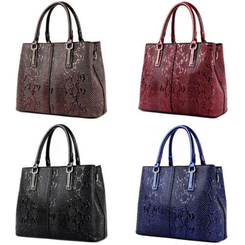 Women Bag Leather Handbag And Purse Ladies Big Crossbody Zipper Animal Print