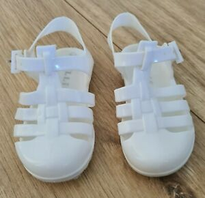 Baby Girl White Jelly Beach Shoes