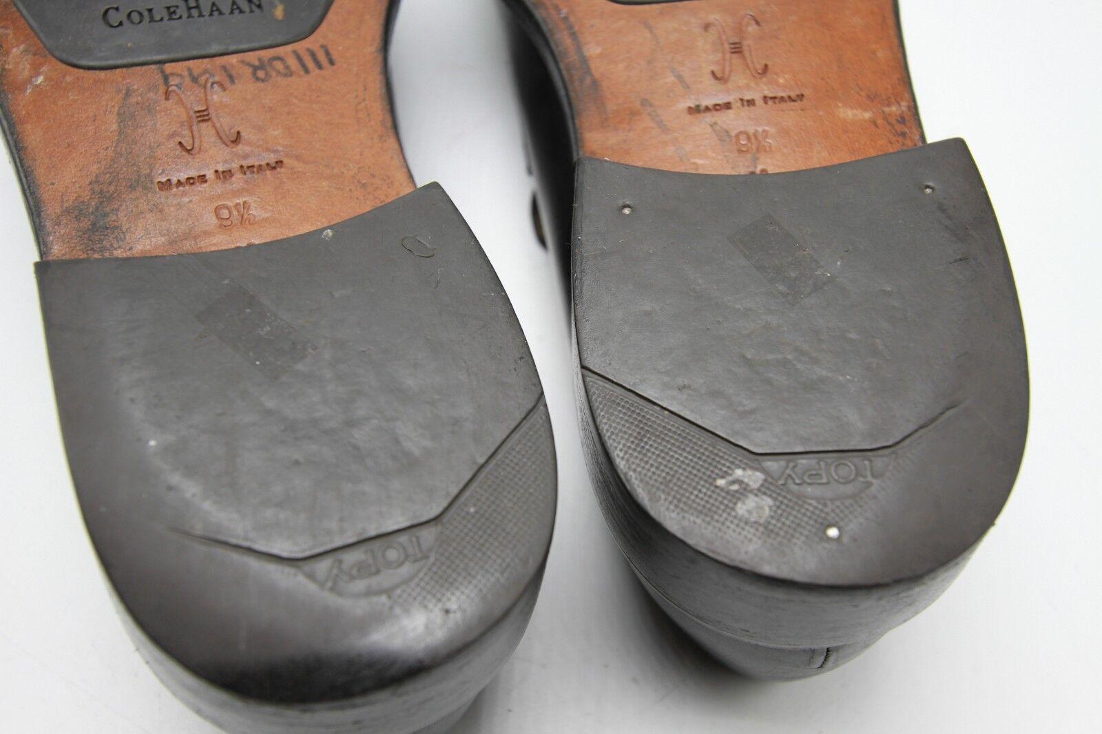 Cole Cole Cole Haan Uomo Leather nero Loafer scarpe Outsole