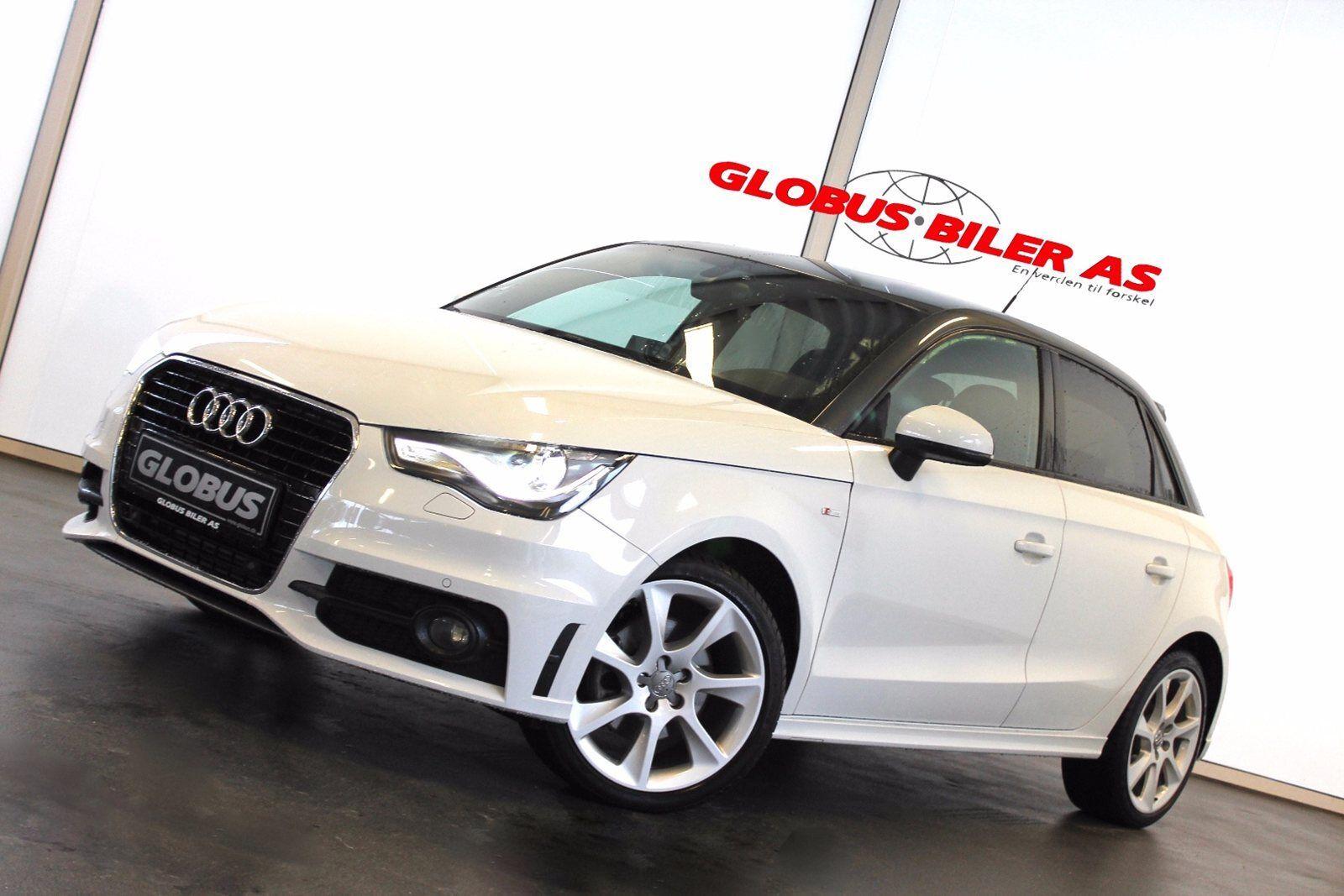 Audi A1 1,4 TFSi 185 S-line SB S-tr. 5d - 229.900 kr.