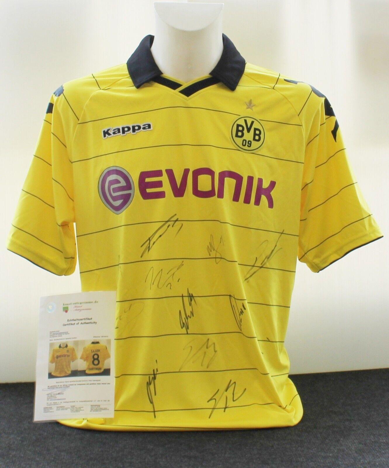 Borussia Dortmund Teamsigniert Trikot aus der Meistersaison 2010/11 Teamsigniert Dortmund  , gr.XL 38c355