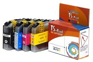 TS-Print-Set-Drucker-Tinten-Patronen-fuer-Brother-LC-121-LC-123-XL-DCP-J552DW