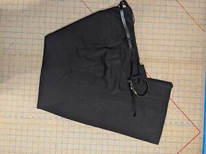 NEW Apt 9 Black Dress Pants with Belt Curvy Fit Women 12 $48 Closet283