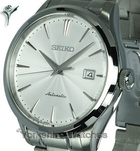 SEIKO-SUPERIOR-AUTO-SATIN-WHITE-FACE-WITH-STAINLESS-STEEL-BRACELET-SRP701J1