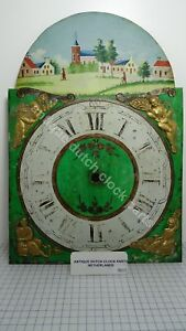 ANTIQUE-SIGNED-DIAL-FOR-A-FRIESIAN-TAIL-WALL-CLOCK