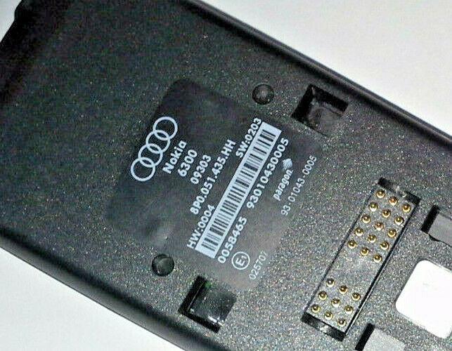 Original Audi Handyadapter Bluetooth Ladeschale für Nokia 6700 8K0 051 435 B
