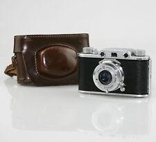 "Ottica GALILEO CONDOR 1 35mm Film Camera c.1947 (""Leica Italiano""), Custodia (dz67)"