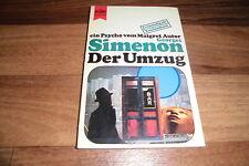 ein Psycho von Georges Simenon -- der UMZUG // Heyne 1971