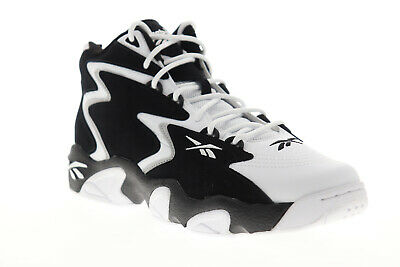 Reebok Mobius Og Mu Mens Gray Leather /& Suede Athletic Basketball Shoes