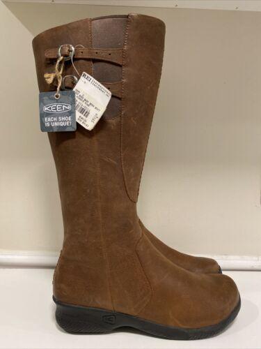 KEEN 'Bern Baby Bern' Brown Leather Knee High Tall