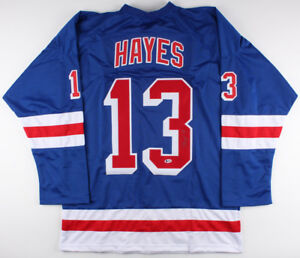 new concept dea52 a6fb8 Details about Kevin Hayes Signed Rangers Jersey (Beckett COA) Playing  career 2014–present