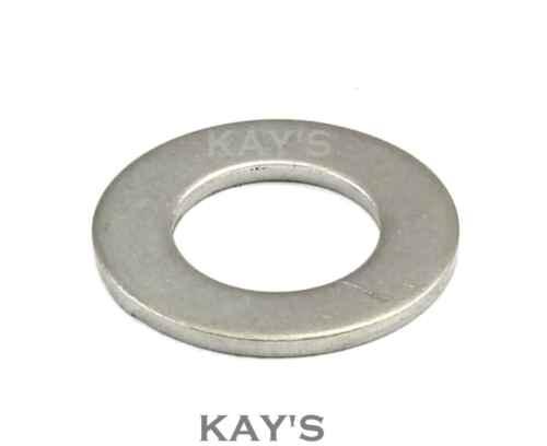 Delgada plana forma B arandelas para colocar tornillos métricos y tornillos de acero inoxidable A2