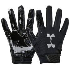 Under Armour UA Spotlight Football Gloves Receiver Black Sz MD Mens 1326218 001
