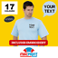 Uneek-UC301-Personalised-Embroidered-T-Shirts-Workwear-Customised-T-Shirt