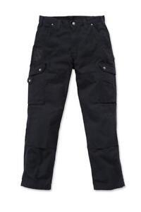 Carhartt-Workwear-B342-Ripstop-Cargo-Trousers-Pant-Black-Man-Work-W32-L34