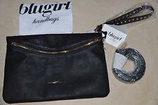 Blugirl Blumarine Black Clutch Handbag w/  Wrist & Shoulder Strap** NWTGS