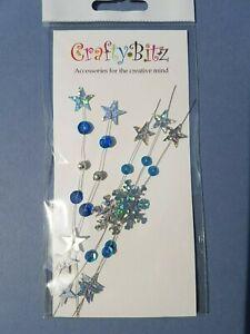 50/&100 Snowflake Flatback Pearl Embellishments Christmas Craft Cardmaking/_CL