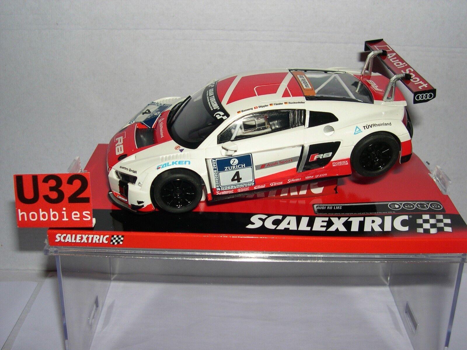 SCALEXTRIC A10225S300 AUDI R8 ALMS