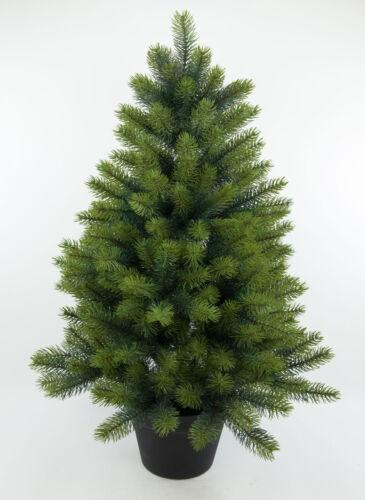 Edel-Tannenbaum Luxus III 92cm GA künstlicher Weihnachtsbaum Spritzguss
