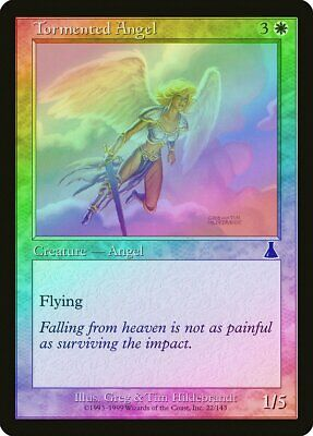 Angel of Retribution FOIL Torment PLD White Rare MAGIC MTG CARD ABUGames
